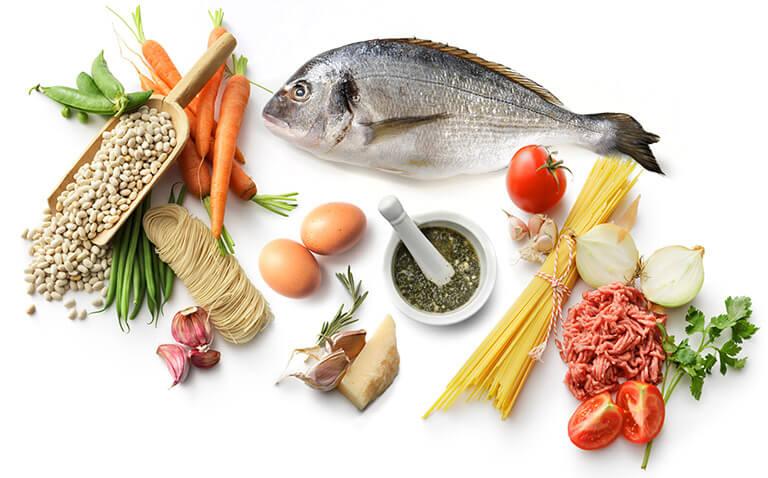 produits nature o frais : viandes et poissons